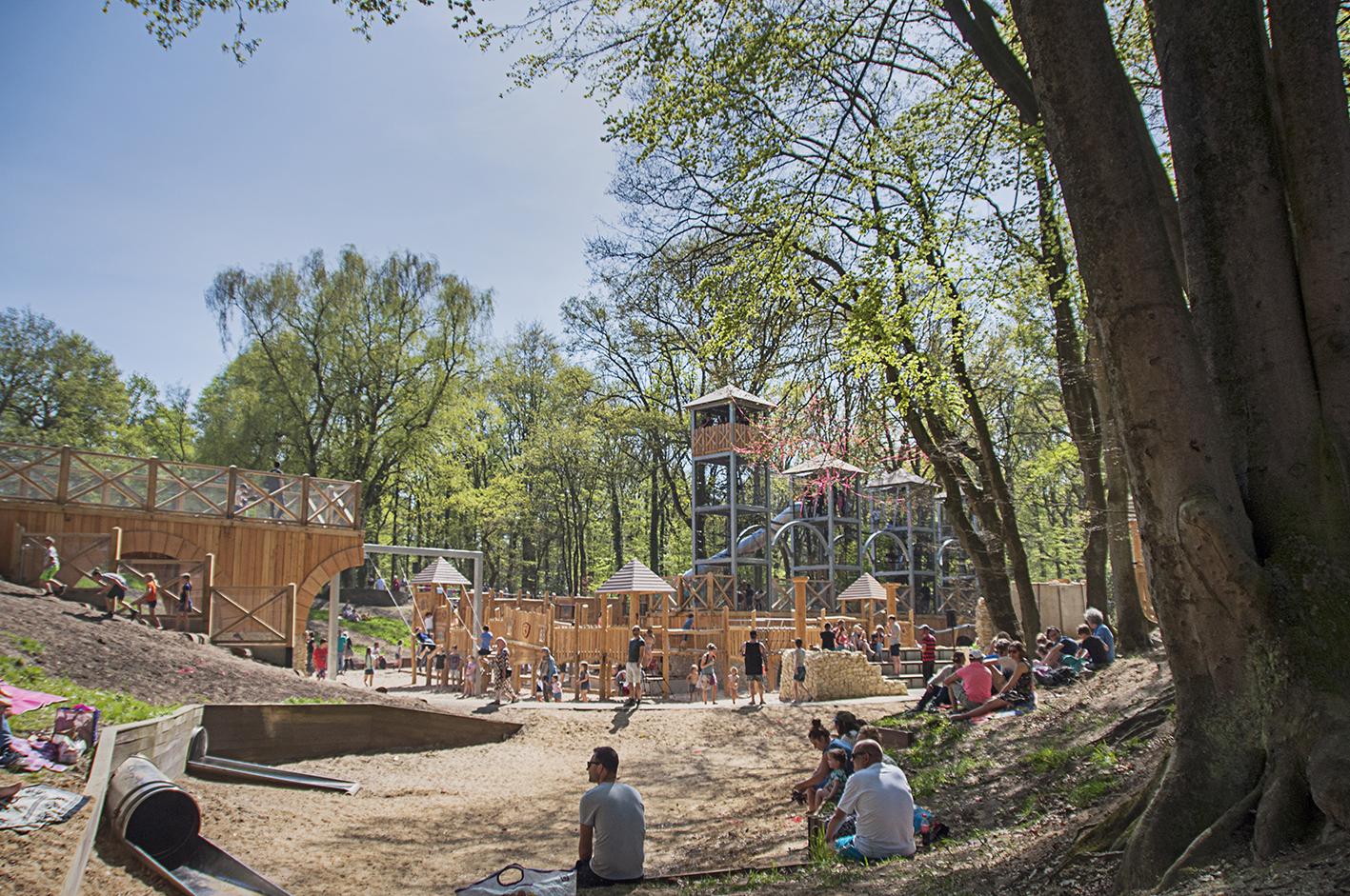 Ontdek het geheime fort van Noviomagus in speeltuin de Leemkuil